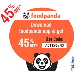Foodpanda offer