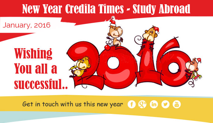 New Year HDFC Credila Times - Study Abroad